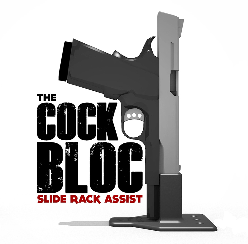 What is the Cock Bloc Slide Rack Assist Device? | The Cock Bloc
